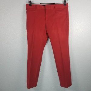 Banana Republic Sloan fit pants red